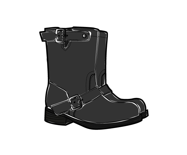 Black Boots by Tanja Hammerl