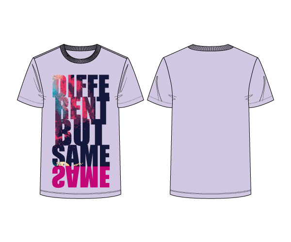 T-Shirt :: Different But Same Same - Men's