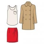 Herbstkollektion Outfit Zwei