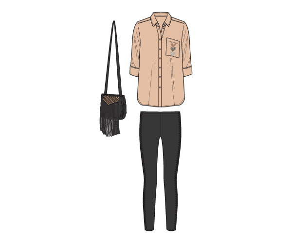 Herbstkollektion Outfit Fünf